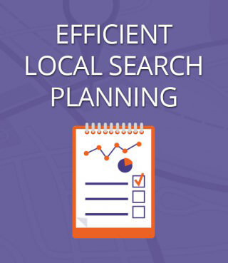 Efficient Local Search Planning